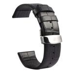 Ремешок для часов Kakapi Watch Strap Set для Apple Watch (42 мм, черный, кожаный)