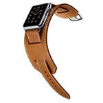Ремешок для часов Synapse Cuff Band для Apple Watch (42 мм, коричневый, кожаный)