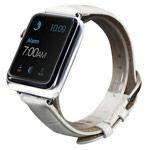 Ремешок для часов Synapse Croco Band для Apple Watch (42 мм, белый, кожаный)