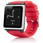 Браслет iWatchz Q Series для Apple iPod nano (6th gen) (красный)