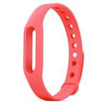 Ремешок для браслета Xiaomi Mi Band (розовый, силиконовый)