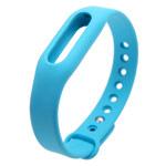 Ремешок для браслета Xiaomi Mi Band (голубой, силиконовый)