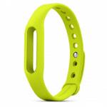 Ремешок для браслета Xiaomi Mi Band (зеленый, силиконовый)