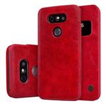 Чехол Nillkin Qin leather case для LG G5 (красный, кожаный)