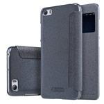 Чехол Nillkin Sparkle Leather Case для Xiaomi Mi 5 (темно-серый, винилискожа)