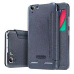 Чехол Nillkin Sparkle Leather Case для Lenovo Lemon 3 (темно-серый, винилискожа)