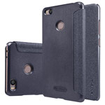 Чехол Nillkin Sparkle Leather Case для Xiaomi Mi 4s (темно-серый, винилискожа)