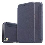 Чехол Nillkin Sparkle Leather Case для OPPO R9 (темно-серый, винилискожа)