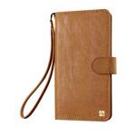 Кошелек Just Must Wallet Loha Collection (коричневый, кожаный, валютник, размер M)