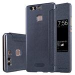 Чехол Nillkin Sparkle Leather Case для Huawei P9 (темно-серый, винилискожа)