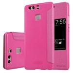 Чехол Nillkin Sparkle Leather Case для Huawei P9 (розовый, винилискожа)