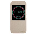 Чехол Nillkin Sparkle Leather Case для HTC 10/10 Lifestyle (золотистый, винилискожа)