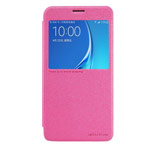 Чехол Nillkin Sparkle Leather Case для Samsung Galaxy J7 2016 J710 (розовый, винилискожа)