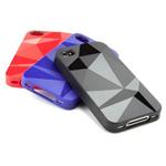 Чехол Speck GeoMetric для Apple iPhone 4/4S (красный)
