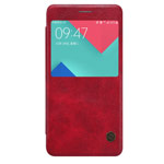 Чехол Nillkin Qin leather case для Samsung Galaxy A5 A510F (красный, кожаный)