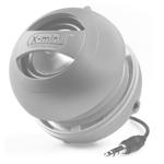Портативная колонка X-Mini II Capsule Speaker (моно) (серебристая)