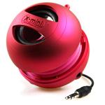 Портативная колонка X-Mini II Capsule Speaker (моно) (розовая)