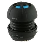Портативная колонка X-Mini Happy Capsule Speaker (с MP3 плеером) (моно) (черная)