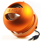 Портативная колонка X-Mini II Capsule Speaker (моно) (оранжевая)