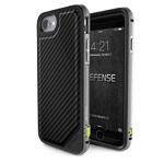 Чехол X-doria Defense Lux для Apple iPhone 7 (Carbon Fiber, маталлический)