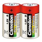 Комплект батареек Camelion (D) (2 шт.) (Alkaline)