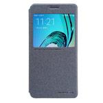 Чехол Nillkin Sparkle Leather Case для Samsung Galaxy A3 2016 A310 (темно-серый, винилискожа)