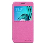 Чехол Nillkin Sparkle Leather Case для Samsung Galaxy A3 2016 A310 (розовый, винилискожа)