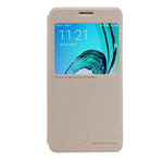 Чехол Nillkin Sparkle Leather Case для Samsung Galaxy A3 2016 A310 (золотистый, винилискожа)