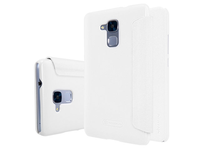 Чехол Nillkin Sparkle Leather Case для Huawei Honor 5C (белый, винилискожа)