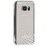 Чехол X-doria Floating Rhombus для Samsung Galaxy S7 (серебристый, пластиковый)