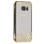 Чехол X-doria Floating Rhombus для Samsung Galaxy S7 (золотистый, пластиковый)