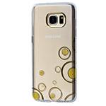 Чехол X-doria Geometry для Samsung Galaxy S7 edge (золотистый, гелевый)