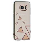 Чехол X-doria Geometry для Samsung Galaxy S7 edge (розовый, гелевый)