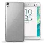 Чехол Yotrix UltrathinCase для Sony Xperia XA ultra (серый, гелевый)