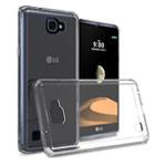 Чехол Yotrix UltrathinCase для LG X5 (прозрачный, гелевый)