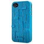 Чехол SwitchEasy Plank для Apple iPhone 4/4S (голубой, пластиковый)