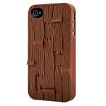 Чехол SwitchEasy Plank для Apple iPhone 4/4S (коричневый, пластиковый)