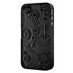 Чехол SwitchEasy Clockwork для Apple iPhone 4/4S (черный, пластиковый)