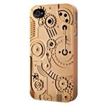 Чехол SwitchEasy Clockwork для Apple iPhone 4/4S (золотистый, пластиковый)