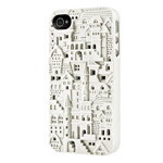 Чехол SwitchEasy Chateau для Apple iPhone 4/4S (белый, пластиковый)