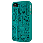 Чехол SwitchEasy Chateau для Apple iPhone 4/4S (зеленый, пластиковый)