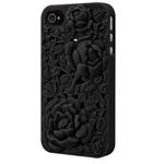 Чехол SwitchEasy Blossom для Apple iPhone 4/4S (черный, пластиковый)