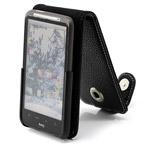 Чехол YooBao Slim case для HTC Desire HD (черный, кожанный)