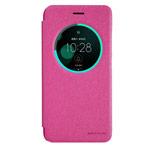 Чехол Nillkin Sparkle Leather Case для Asus Zenfone 3 ZE552KL (розовый, винилискожа)