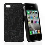 Чехол KissKin Doodle Back case для Apple iPhone 4/4S (Mullet Metal, пластиковый)