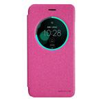 Чехол Nillkin Sparkle Leather Case для Asus Zenfone 3 ZE520KL (розовый, винилискожа)
