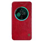 Чехол Nillkin Qin leather case для Asus Zenfone 3 ZE552KL (красный, кожаный)