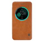 Чехол Nillkin Qin leather case для Asus Zenfone 3 ZE552KL (коричневый, кожаный)