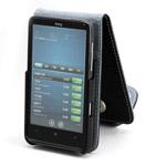 Чехол YooBao Slim case для HTC HD7 (черный, кожанный)