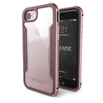 Чехол X-doria Defense Shield для Apple iPhone 7 (розово-золотистый, маталлический)